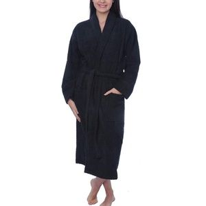 100% Cotton Terry Cloth Robe